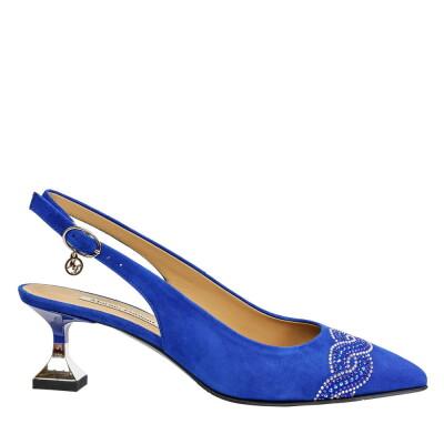 Босоножки 8073 голубые Marino Fabiani